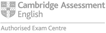 Logo: University of Cambridge, Cambridge English Language Assessment